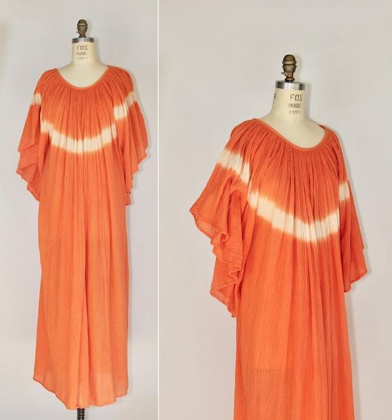 Amerikan Climax | india gauze dress | 1970s | bohe