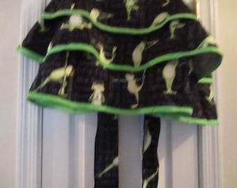 kitchen kitchen and dining frogs doing yoga hostess gift idea retro inspired baking black Apron cooking half apron