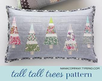 Tall Tall Trees PDF pattern