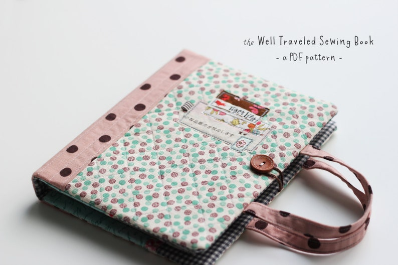 Well Traveled Sewing Book PDF Pattern image 0