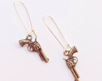Guns Earrings
