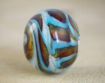 lampwork focal bead, craft material, glass bead focal, hobby materials. hobby supplies, handmade glass beads, jewelry supplies, glass bead
