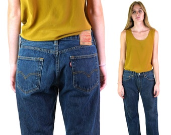 "Vintage Levi's 505s Jeans Dark Wash Unisex 33"" x 30"""