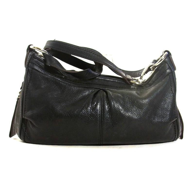 b33e991a94c4 Black Leather Hobo Bag Vintage Butter Soft Leather Shoulder