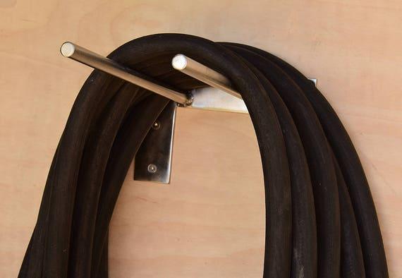Modern Hose Rack Minimal Outdoor Hose Holder Stainless Steel | Etsy