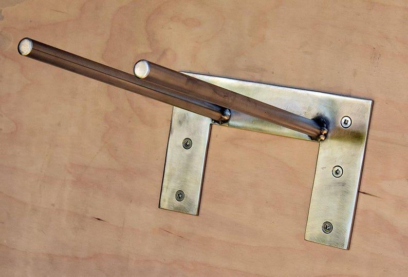 Minimal Design Hose Holder made Of Stainless Steel Modern Outdoor Hose Rack