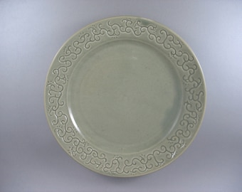 Celtic Spirals and Vines Plate