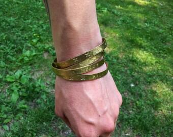Personalized Jewelry - Custom Cuff Bracelets