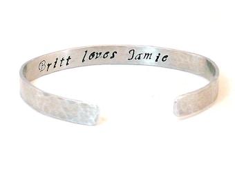 Secret  Message Bracelet - For Your Eyes Only, Quote Bracelet Jewelry Custom Bracelet Personalized Gift