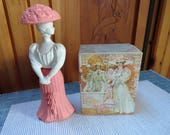 Avon 39 s Gay Nineties Fashion Figurine perfume Bottle, Cologne Decanter