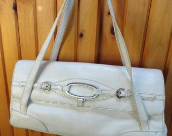 White Handbag by Franco Sarto