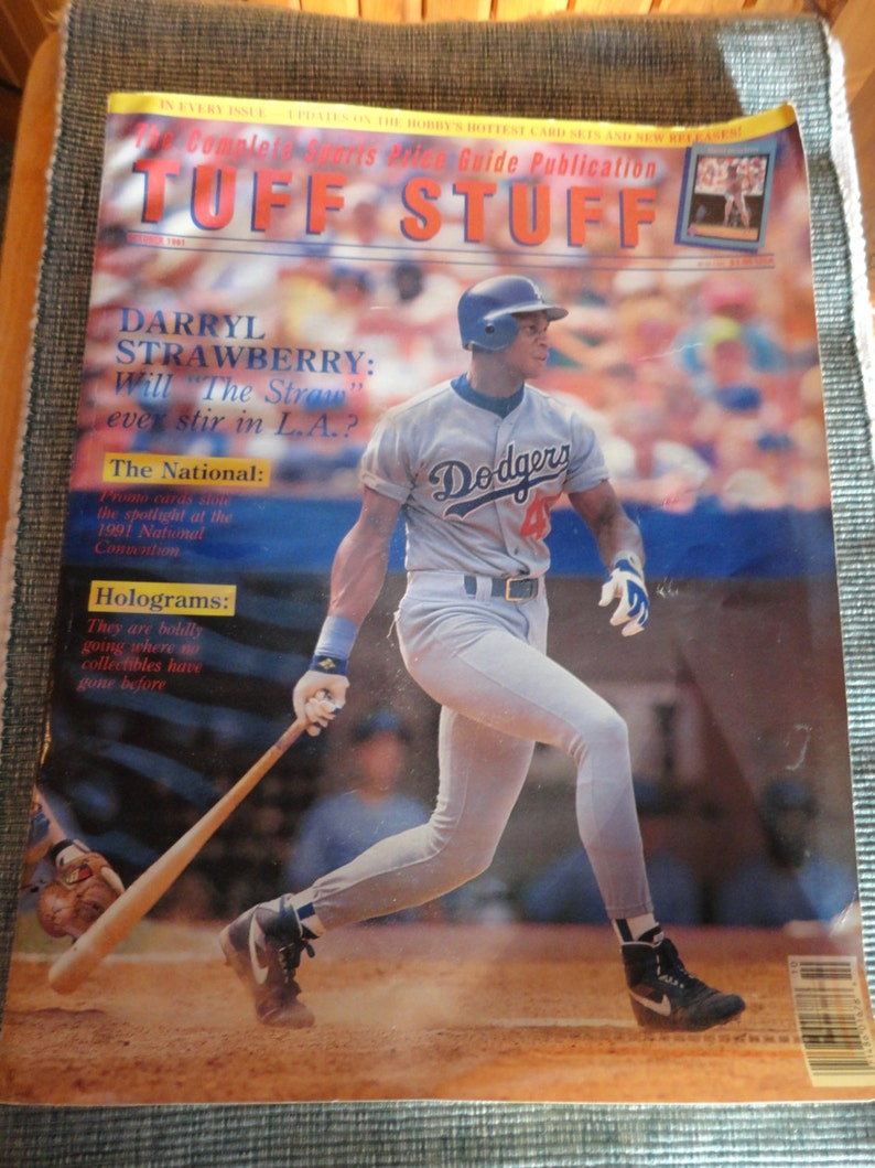 Baseball Magazine 1991 Tuff Stuff Complete Base Ball Card Price Guide Publication Book Or Magazine