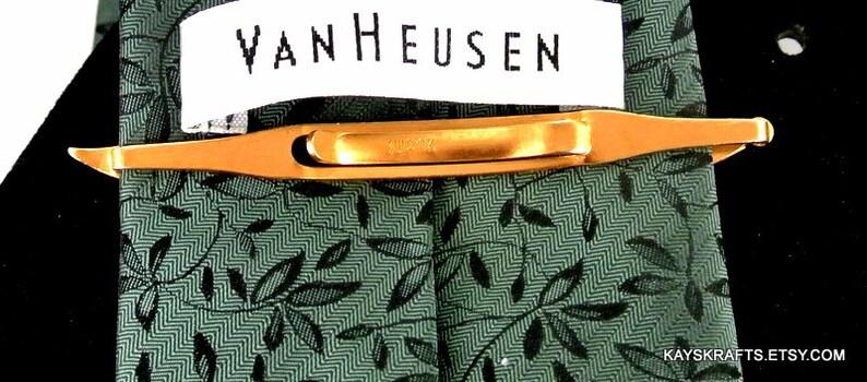 Swank Sword Tie Bar 1940 Vintage Tie Bar Swank Gold Tone Tie Bar Sword Saber Tie Bar