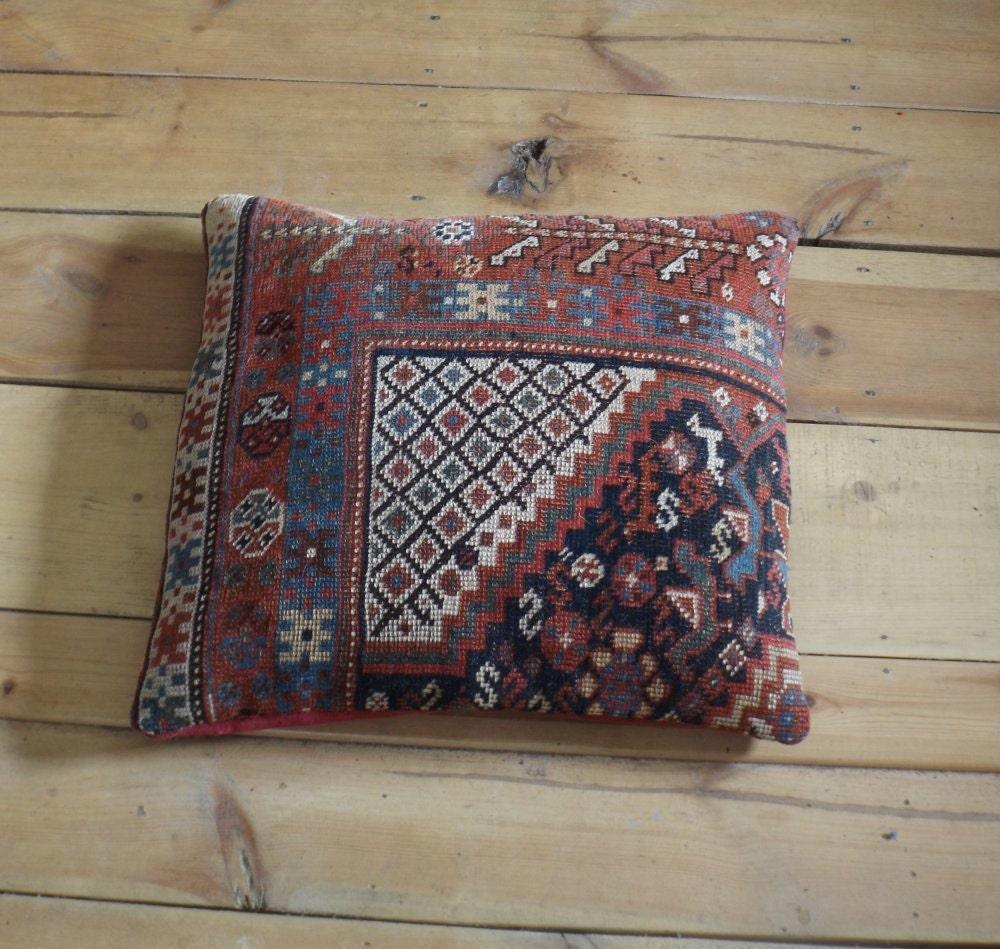 Antique Oriental Rugs Uk: Antique Persian Rug Pillow/cushion