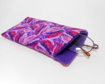 Purple Eyeglass Case