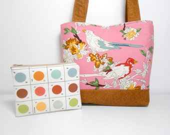 Uptown Lush Purse Set, Paint by Number Birds and Paint Coin Purse