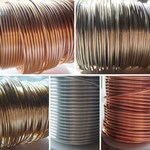 Soft Copper Brass Tinned Copper Bronze Aluminum Wire 12 to 26 Gauge 1/4 Lb on a Spool 4 Ounces