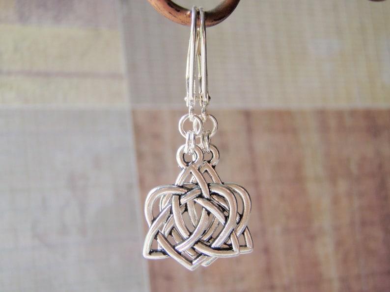 Silver Earrings Sterling Silver Leverback Ear Wires Tierracast image 0