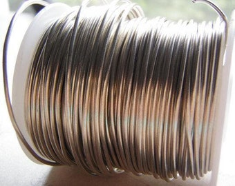 Tinned Copper Wire Dead Soft Coil Sold by the Foot