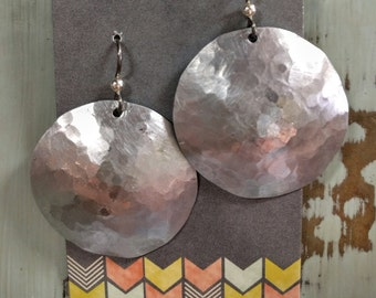 Metal Earrings from Recycled Aluminum