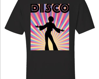 Disco 70's Retro Dancing Dancer Party Costume - Unisex T-Shirt