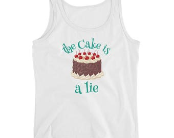 The Cake is a Lie and other truths  Tank top ahirt
