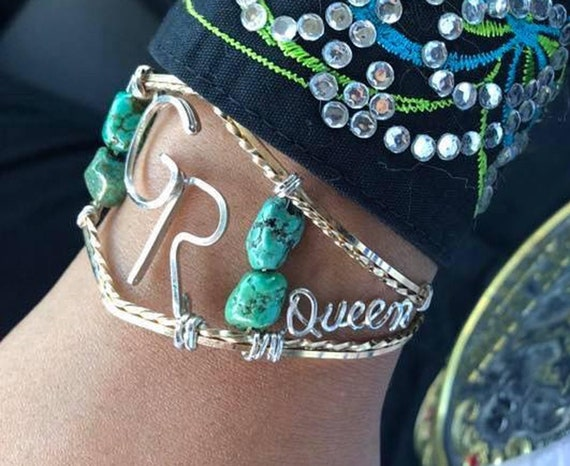 Custom Brand Bracelet, Rodeo Queen, Cattle Brand, Family Brand, Western Wedding, Brand, Initials, Design Your Dream, Cowgirl Jewelry,