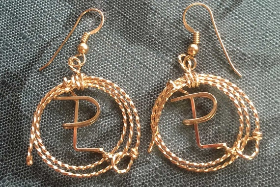 Ranch Brand Earrings, Customized with your Brand, Lariat Brand Earrings, Equestrian, Roper, Cowgirl, Western Earrings, Western Wedding,