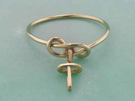 Personalized Dangle Ring in Gold