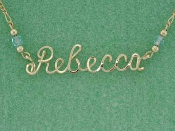 Personalized Ankle Bracelet, 12 K Gold, Any Name, Custom, Anklet, Script Wire Writing, Gift for Her, Beach Wedding, Bridal Gifts, Memorial