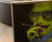 Graffiti Belt Buckle-Green Man