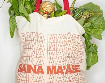 NENEEE Saina Ma'åse' reusable tote bag