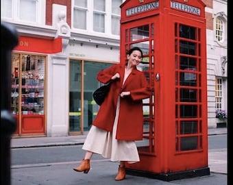 NENEEE CLOSET vintage 80s Parisian dropwaist dress