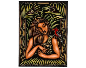 The Romance of Lauka'ie'ie, limited edition fine art print