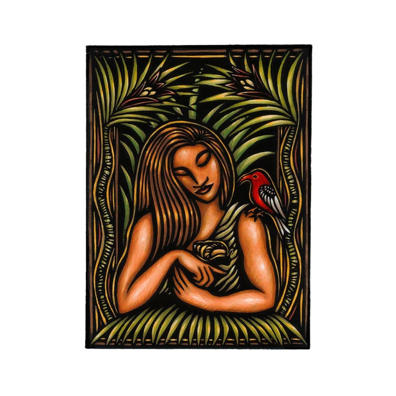 The Romance of Lauka'ie'ie limited edition fine art image 0
