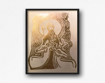 Handmade Linocut Prints