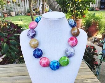 BubbleGum Quartz Necklace