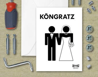 Wedding Greeting Card Ikea Instructions Parody