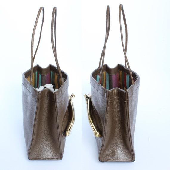 Vintage Bonnie Cashin For Coach Bag Mini Tote wit… - image 4