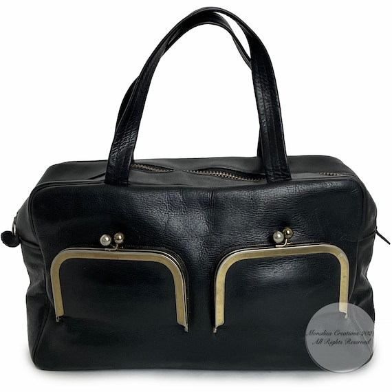 Vintage Bonnie Cashin for Coach Bag Double Pocket… - image 3