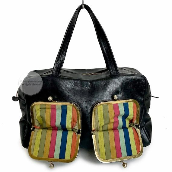 Vintage Bonnie Cashin for Coach Bag Double Pocket… - image 1