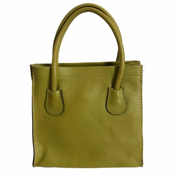 Vintage Coach Bonnie Cashin Dinky Leather Tote Bag
