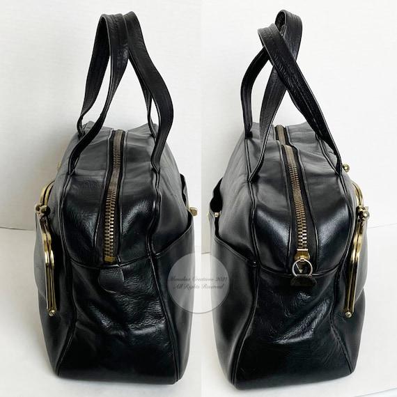Vintage Bonnie Cashin for Coach Bag Double Pocket… - image 5