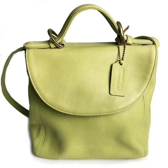 Vintage Coach Soho Handle Bag Flap Crossbody 4158