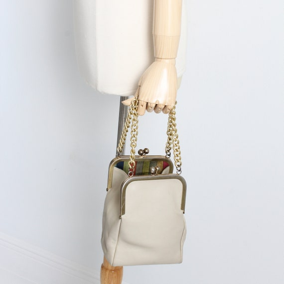 Bonnie Cashin for Coach Double Kiss Lock Bag Tote… - image 2