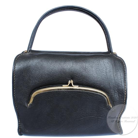 Bonnie Cashin for Coach Kisslock Tote Doctors Bag… - image 2