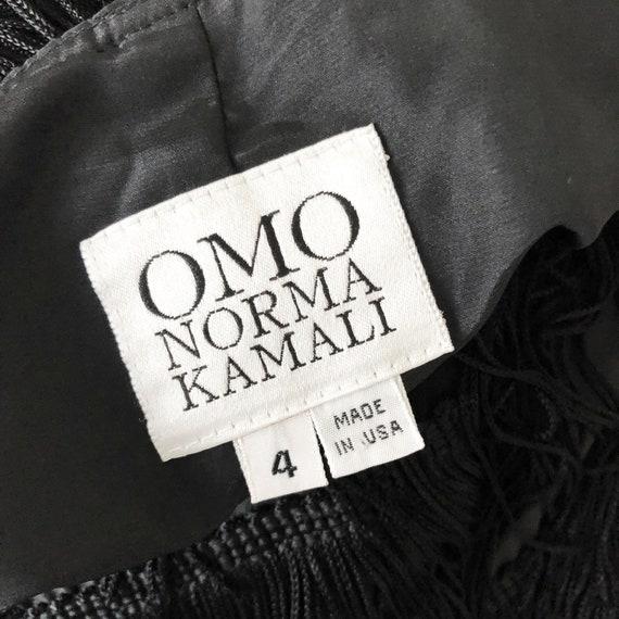 Vintage Norma Kamali OMO Long Skirt with Tiered F… - image 8