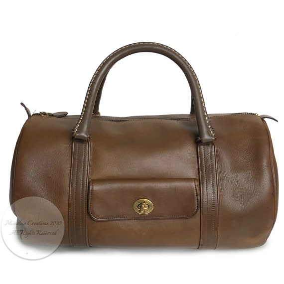 Bonnie Cashin for Coach Safari Bag Brown Leather … - image 4