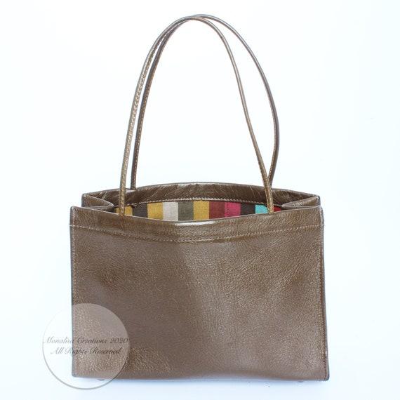 Vintage Bonnie Cashin For Coach Bag Mini Tote wit… - image 5