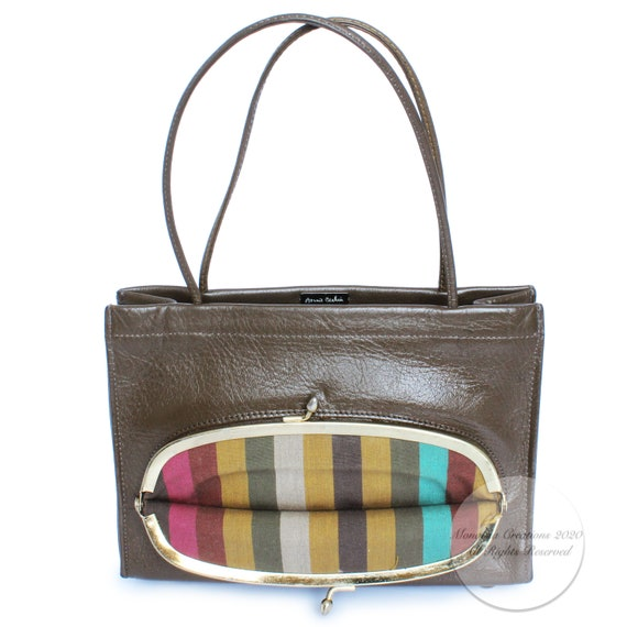 Vintage Bonnie Cashin For Coach Bag Mini Tote with